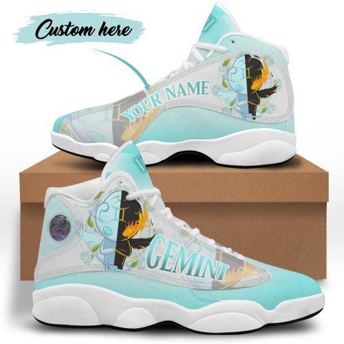 Gemini custom name Air Jordan 13 Sneaker Shoes