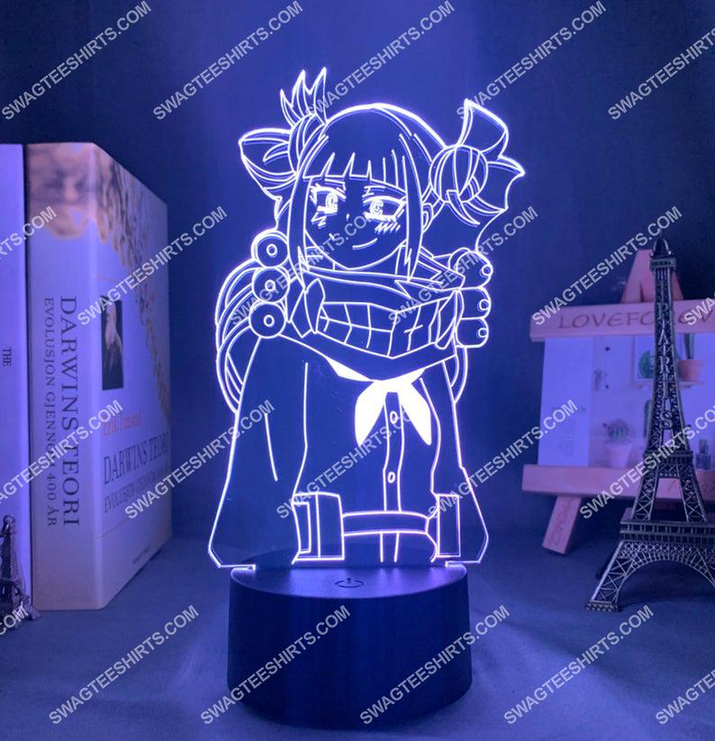 Himiko toga my hero academia anime 3d night light led 21
