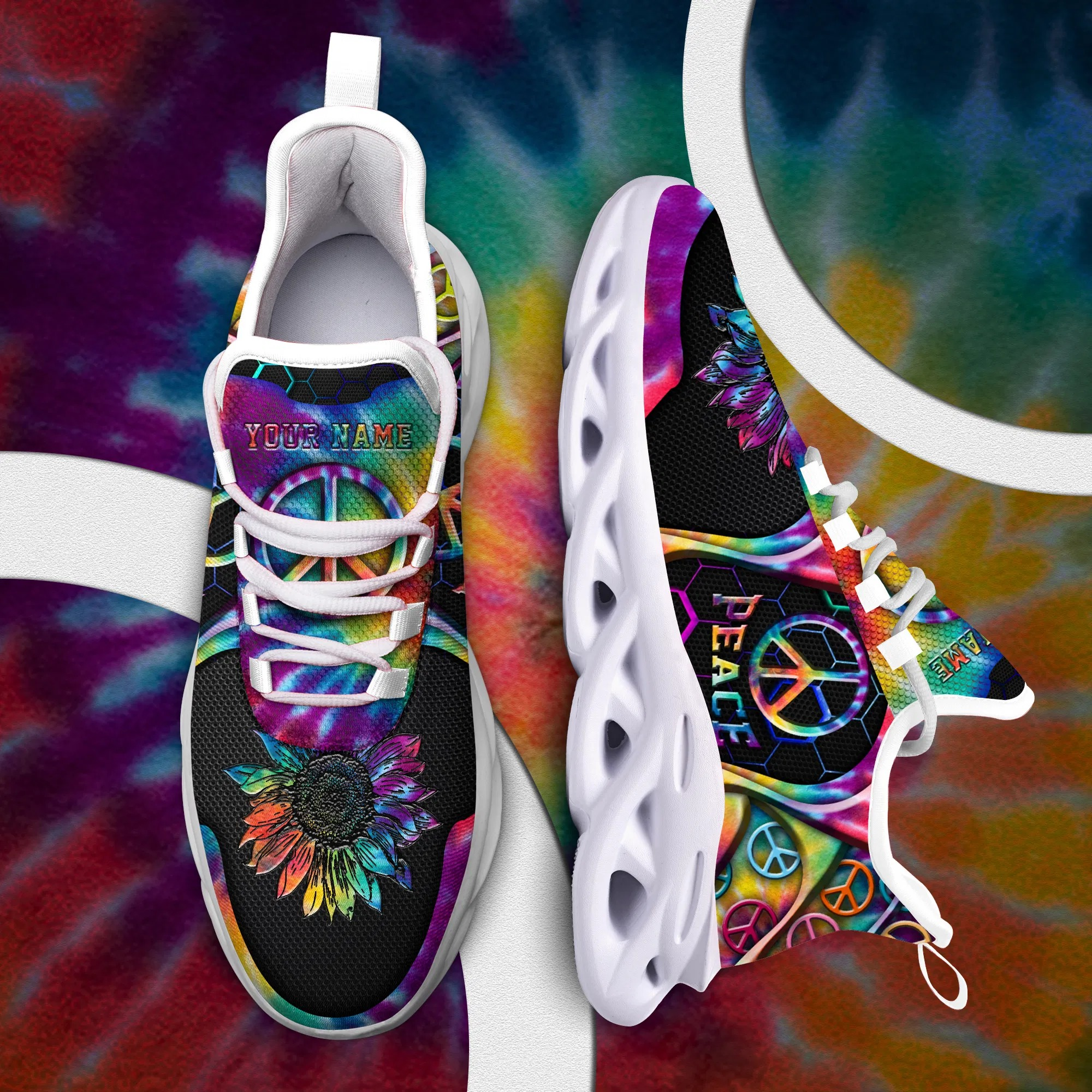 Hippie Clunky Custom Your Name Sneakers