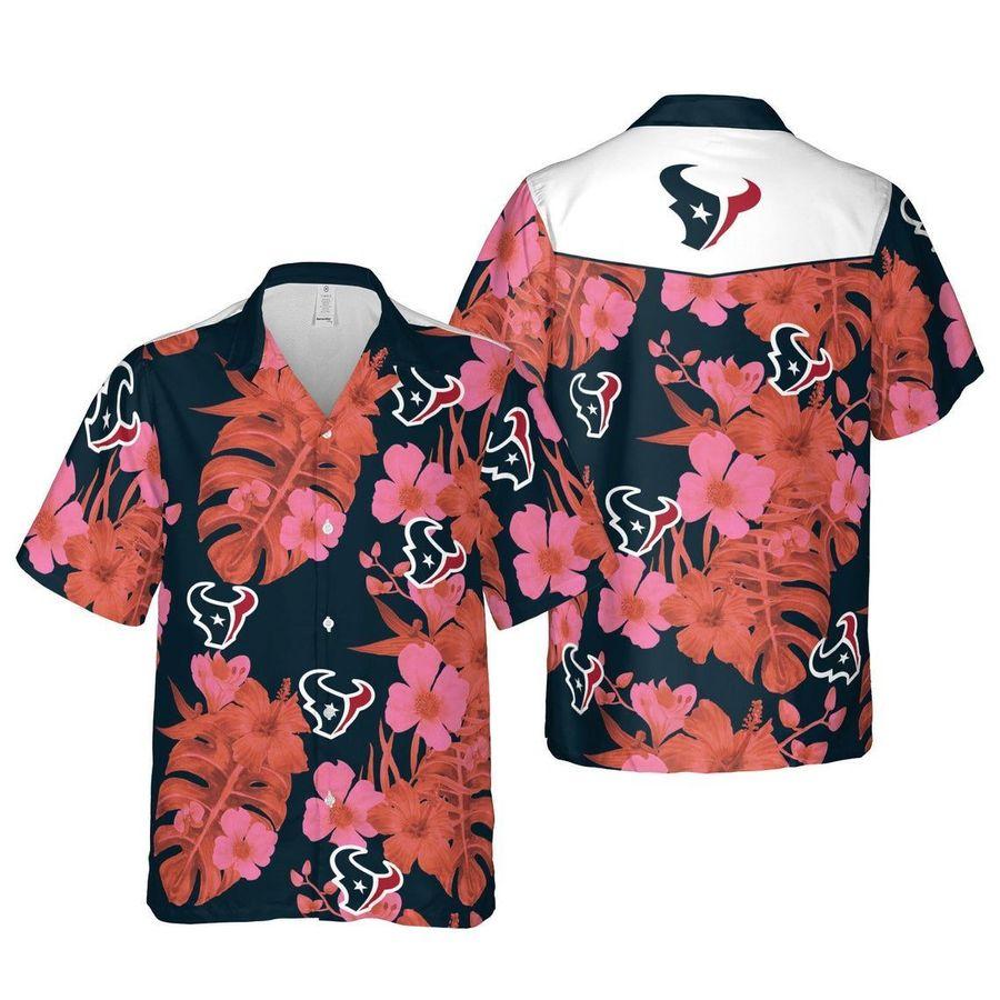 Houston texans nfl football hawaiian shirt