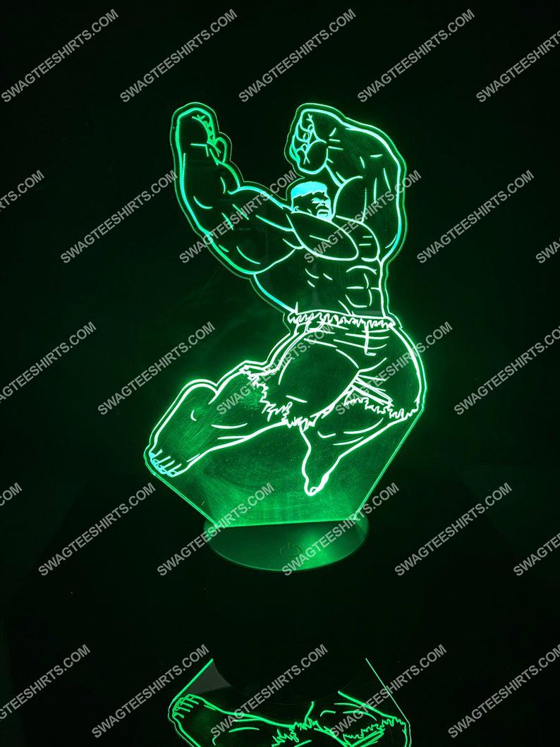 Hulk marvel comic 3d night light led 21