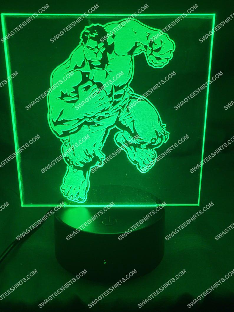 Hulk marvel studios 3d night light led 21