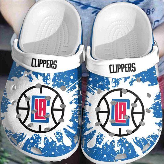 Los Angeles Clippers crocs clog crocband