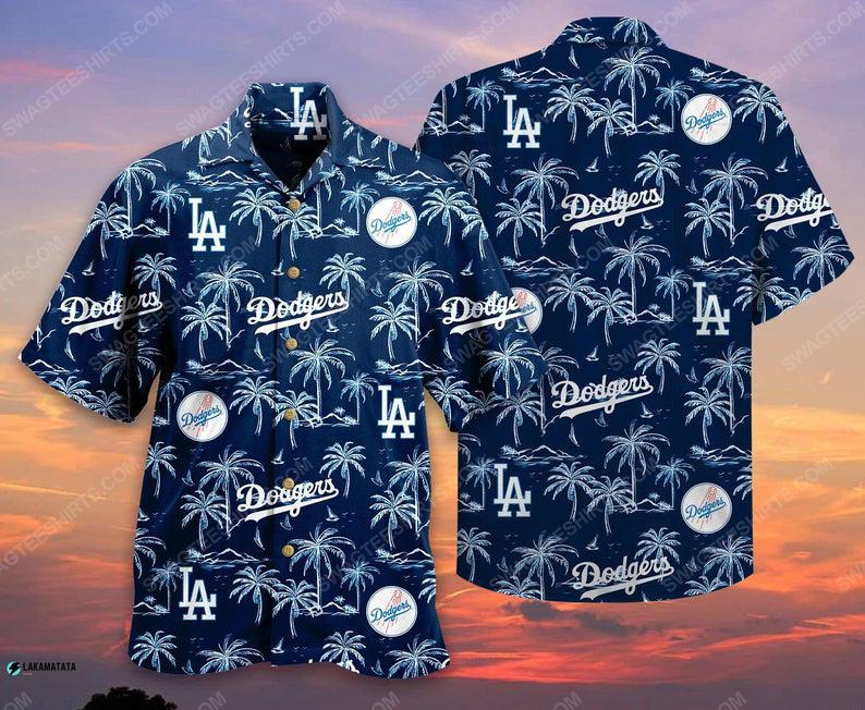 Los angeles dodgers mlb baseball sports hawaiian shirt 1