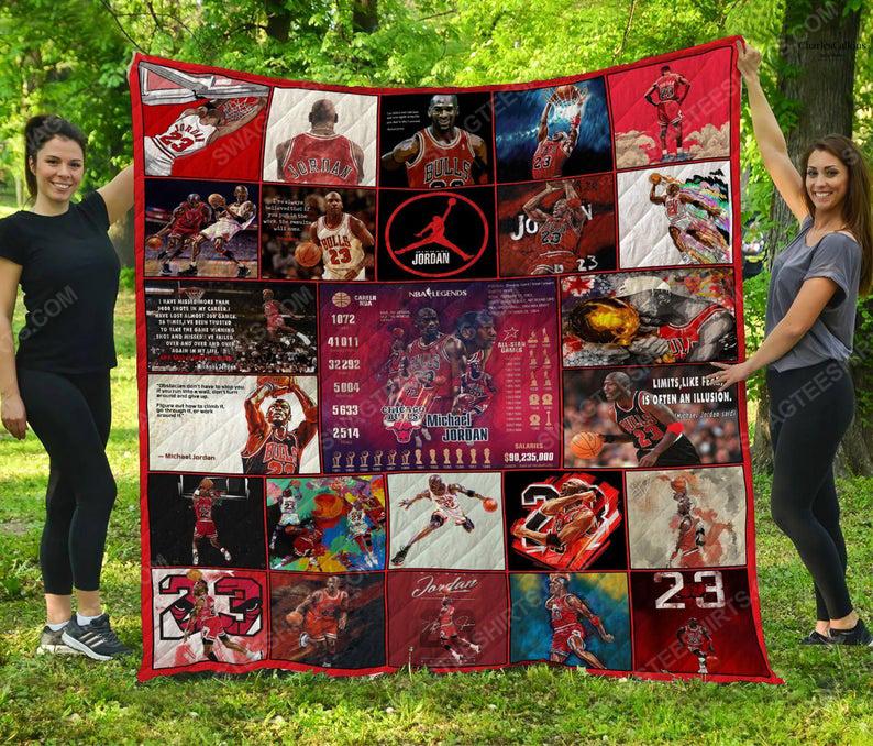 Michael jordan nba basketball full printing quilt 1