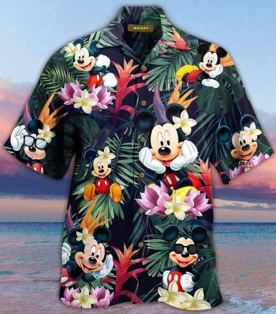 Mickey mouse hawaiian shirt