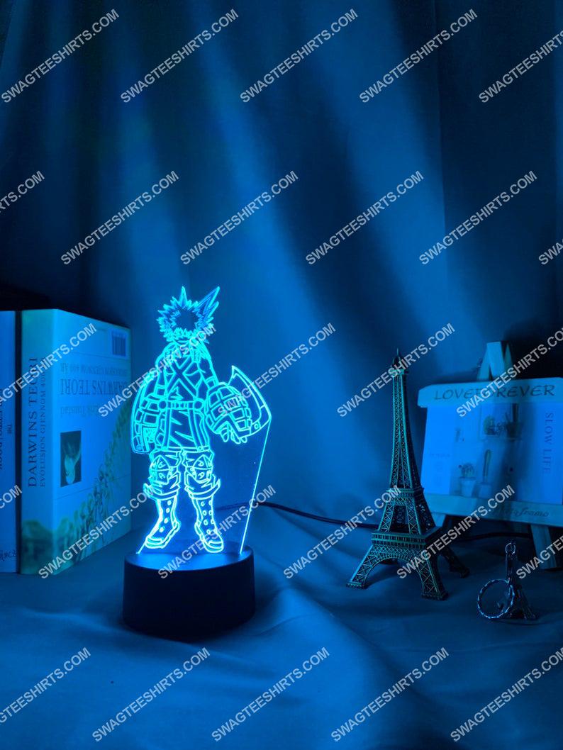 My hero academia bakugo katsuki anime 3d night light led 21