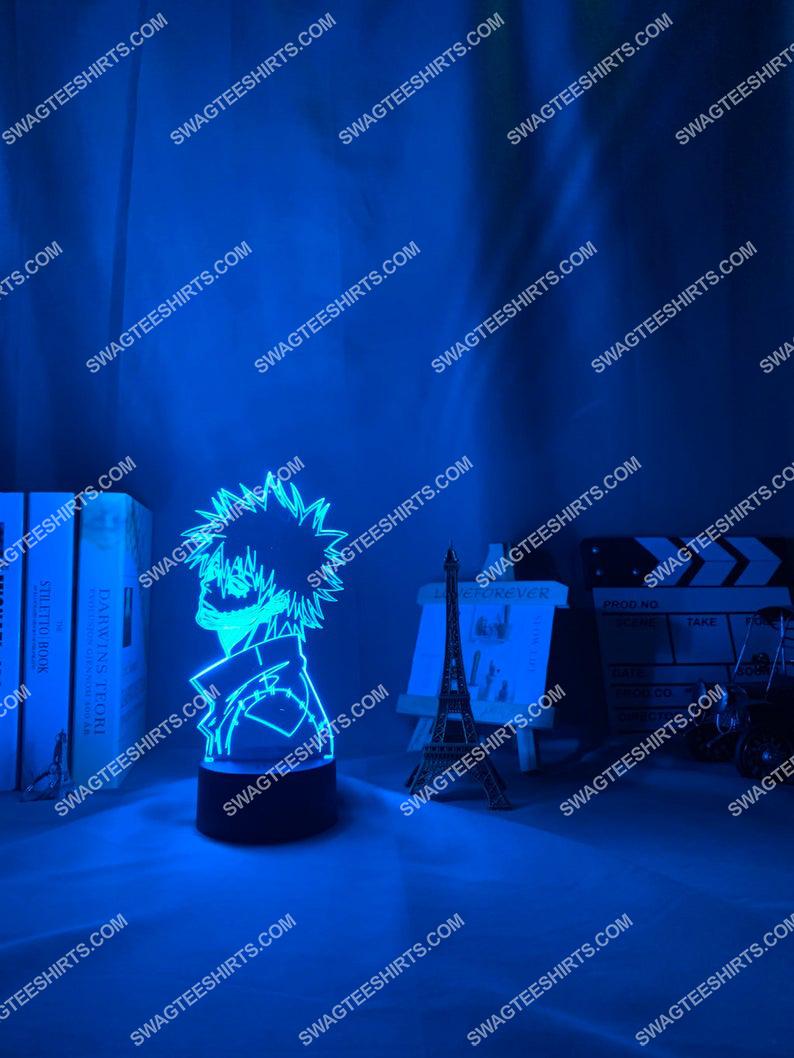 My hero academia dabi anime 3d night light led 21