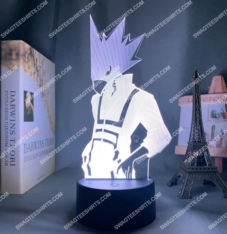 My hero academia fumikage tokoyami anime 3d night light led 21