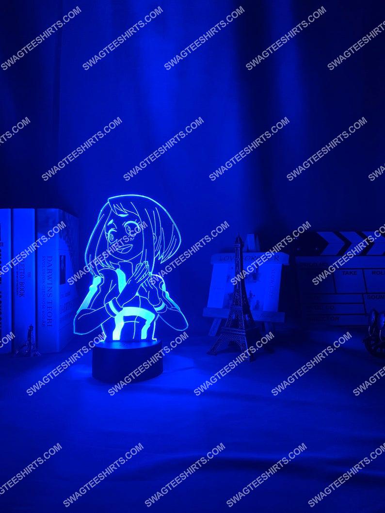 My hero academia ochako uraraka anime 3d night light led 21