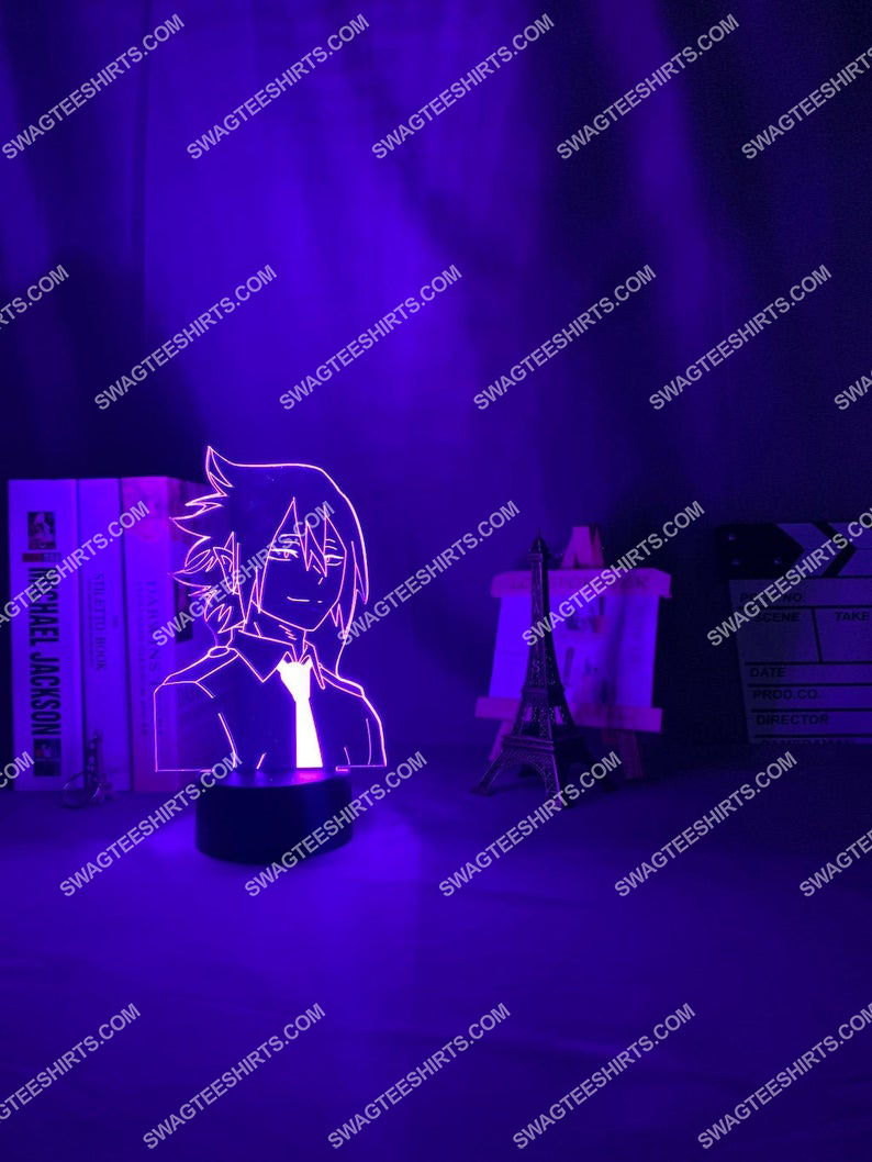 My hero academia tamaki amajiki anime 3d night light led 21
