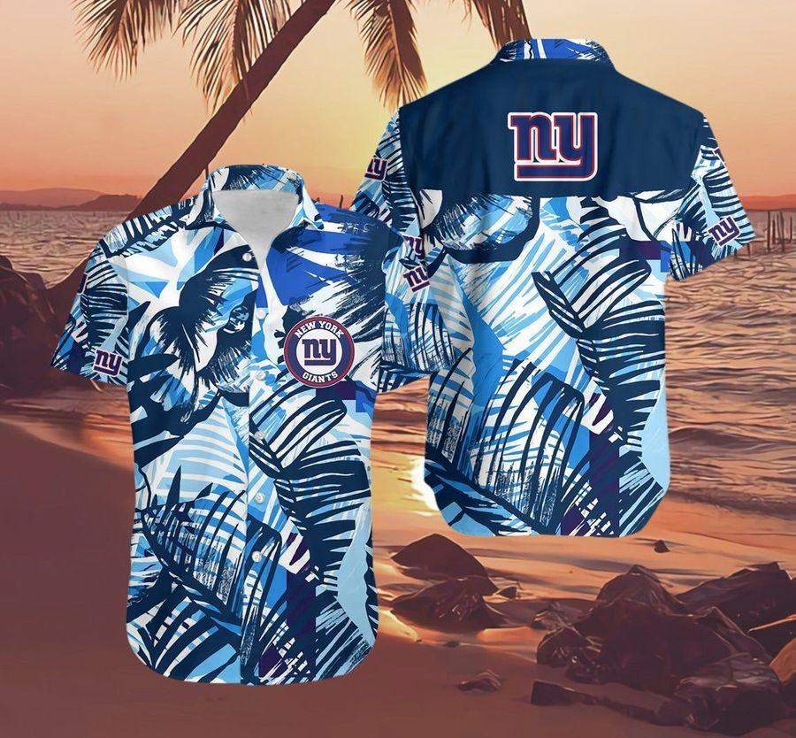 New york giants nfl football hawaiian shirt