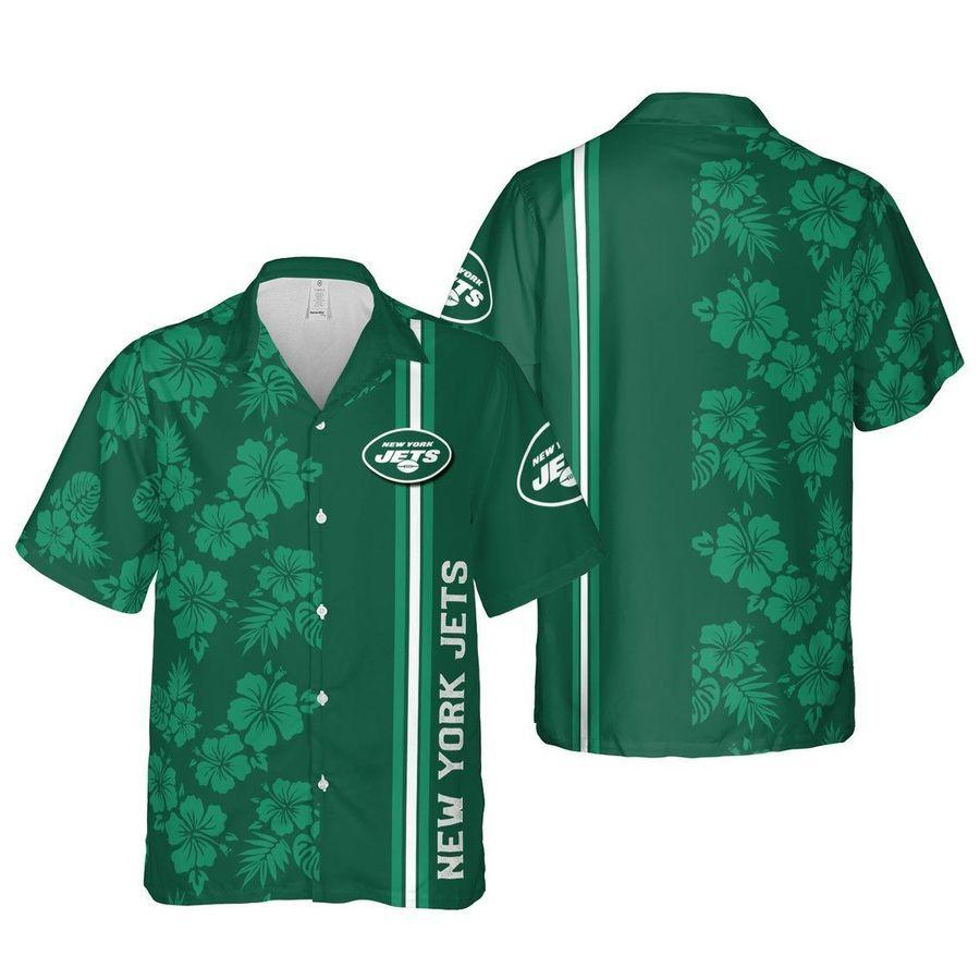 New york jets nfl football hawaiian shirt