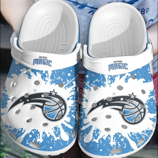 Orlando Magic crocs clog crocband