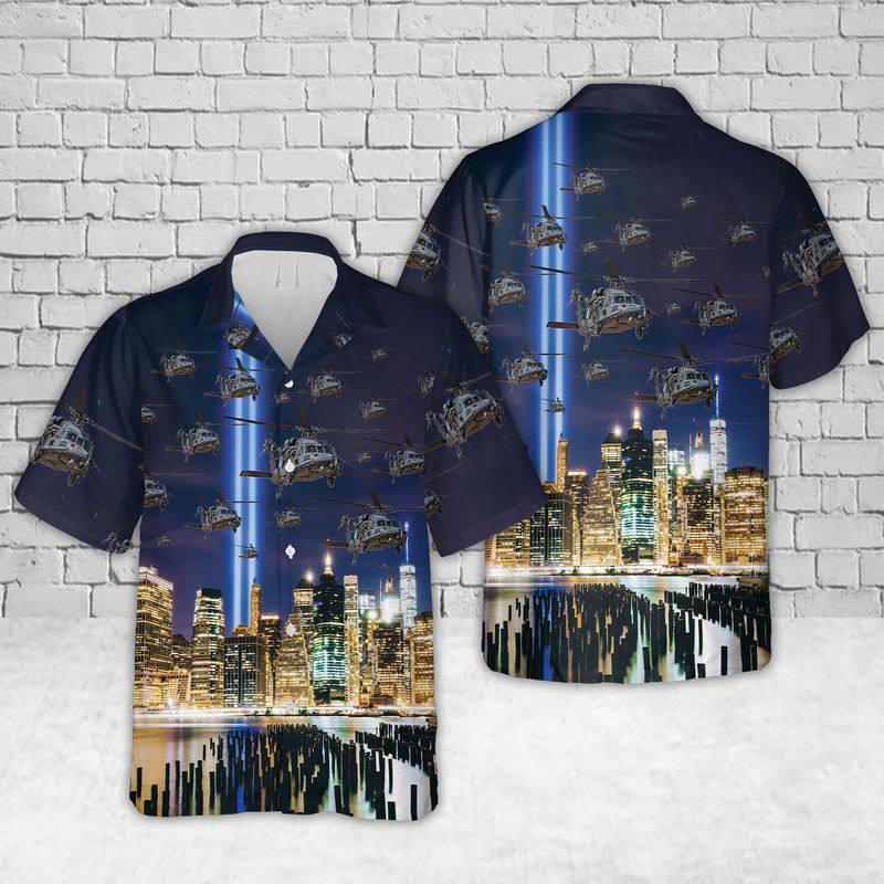 Pave Hawks of the 106th Rescue Wing New York Air National Guard Hawaiian Shirt