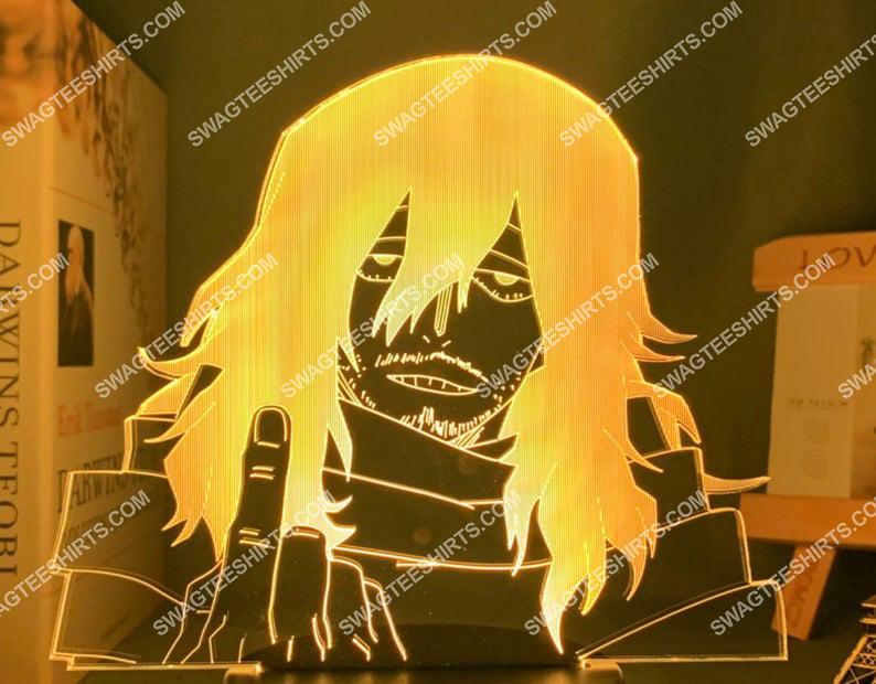 Shota aizawa my hero academia anime 3d night light led 21