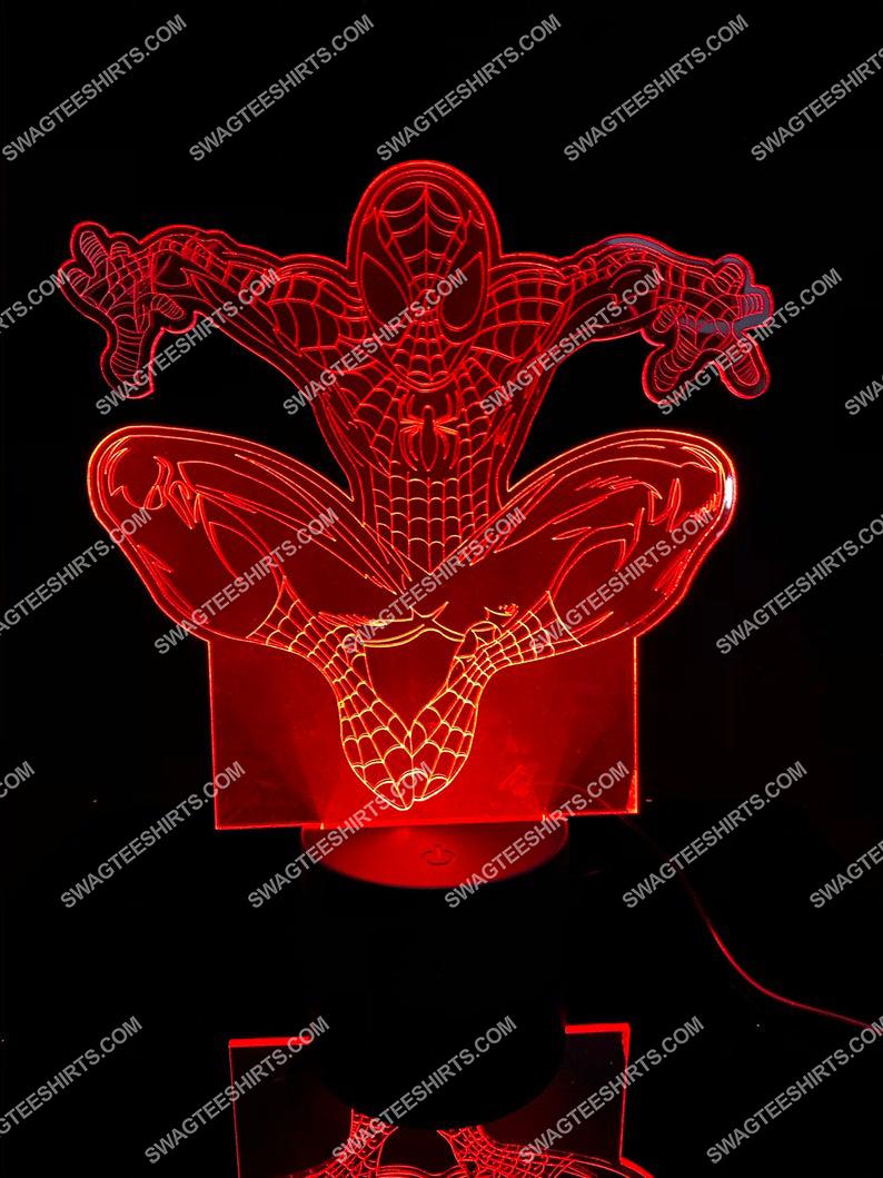 Spider man movie marvel studios 3d night light led 21