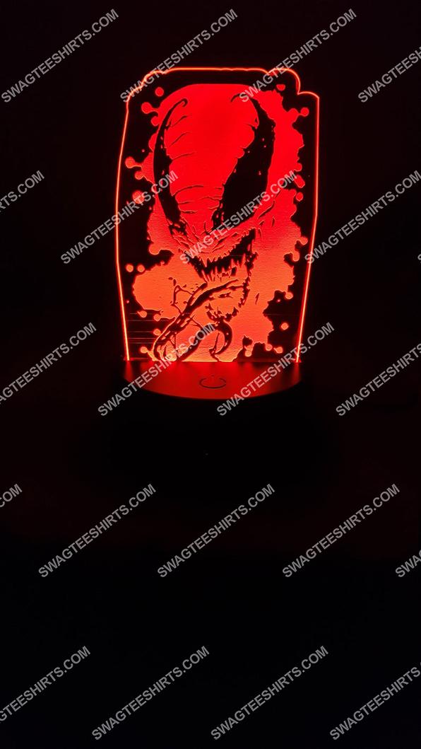 Spider man venom marvel comics character 3d night light led 21