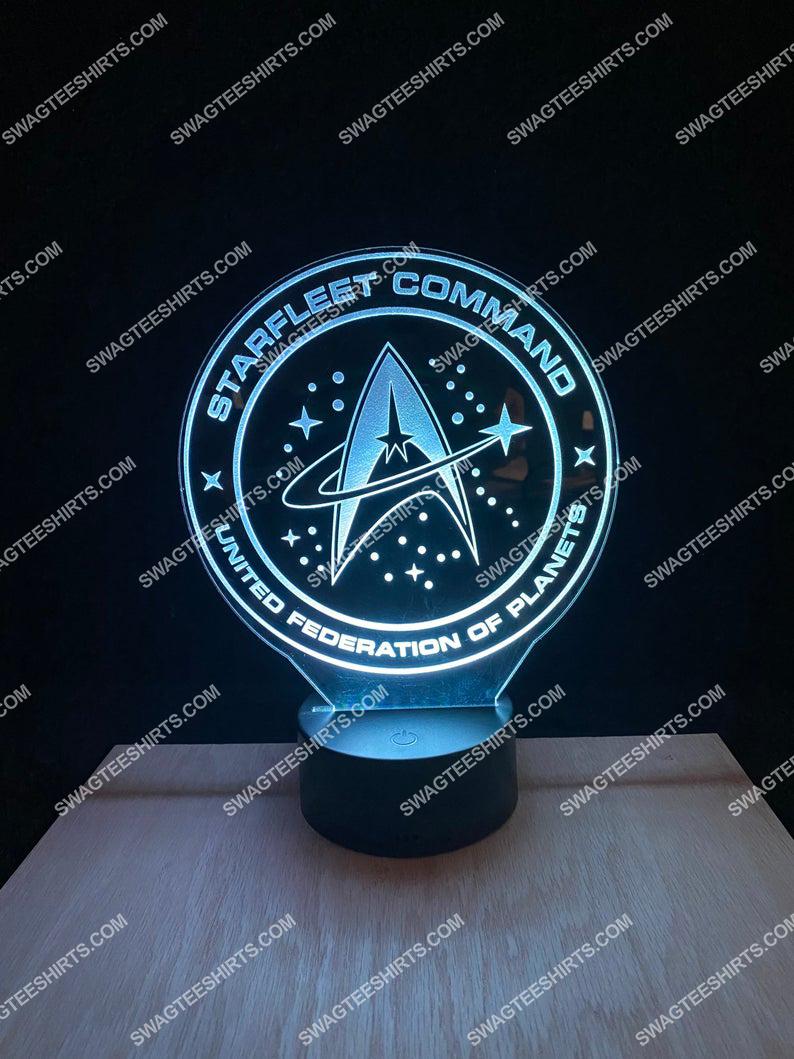 Starfleet command united federation of planets 3d night light led 21
