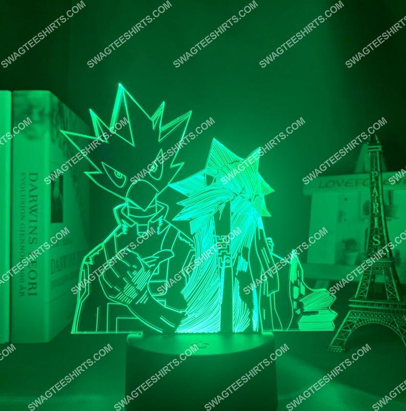 Tokoyami fumikage different styles my hero academia anime 3d night light led 21