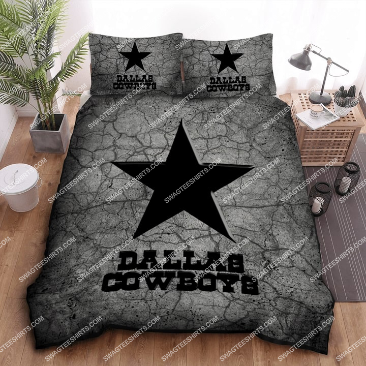 [special edition] cracks dallas cowboys football all over print bedding set - maria