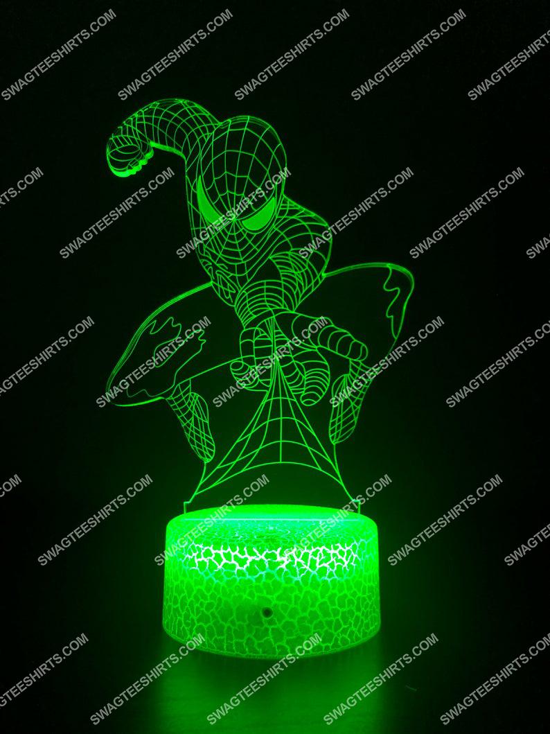 spider man marvel 3d night light led 21