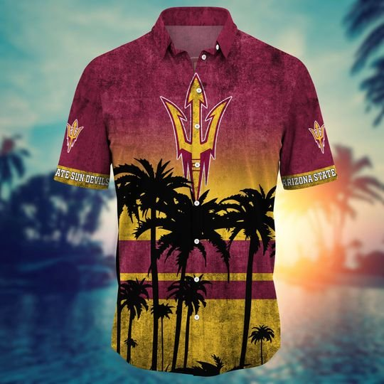 Arizona State Sun Devils NCAA2 Hawaiian Shirt And Short - BBS