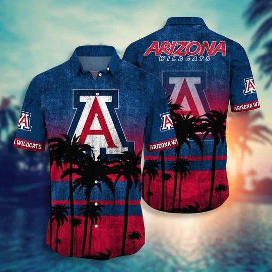 Arizona Wildcats NCAA3 Hawaiian Shirt And Short - BBS
