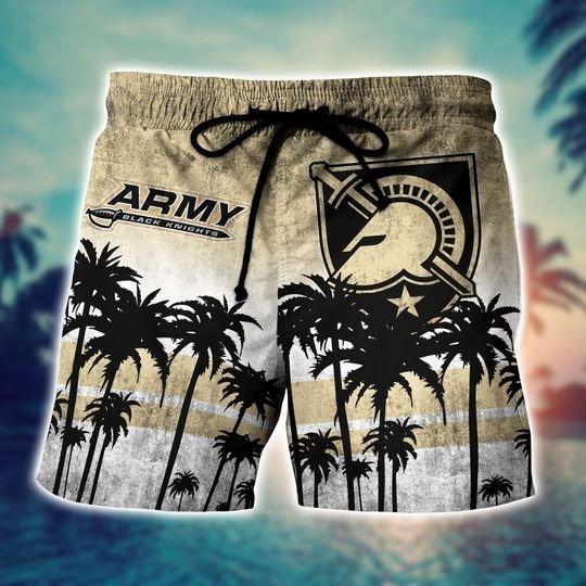 Army Black Knights NCAA3 Hawaiian Shirt And Short - BBS