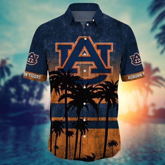Auburn Tigers NCAA1 Hawaiian Shirt And Short - BBS