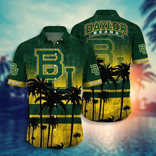 Baylor Bears NCAA2 Hawaiian Shirt And Short - BBS