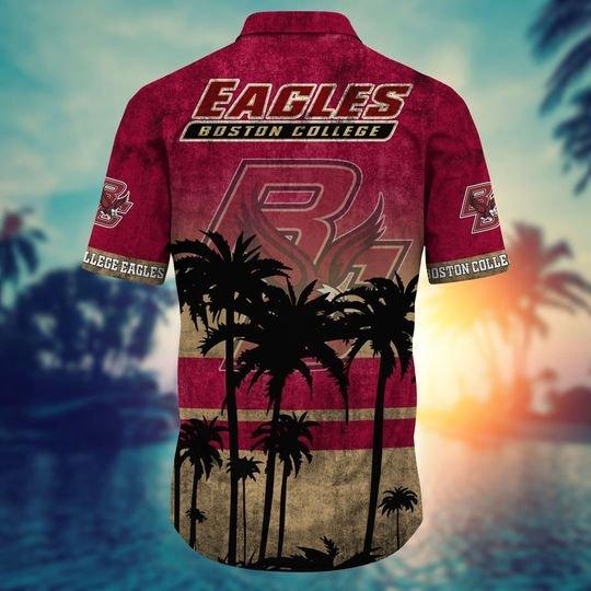 Boston College Eagles NCAA3 Hawaiian Shirt And Short - BBS