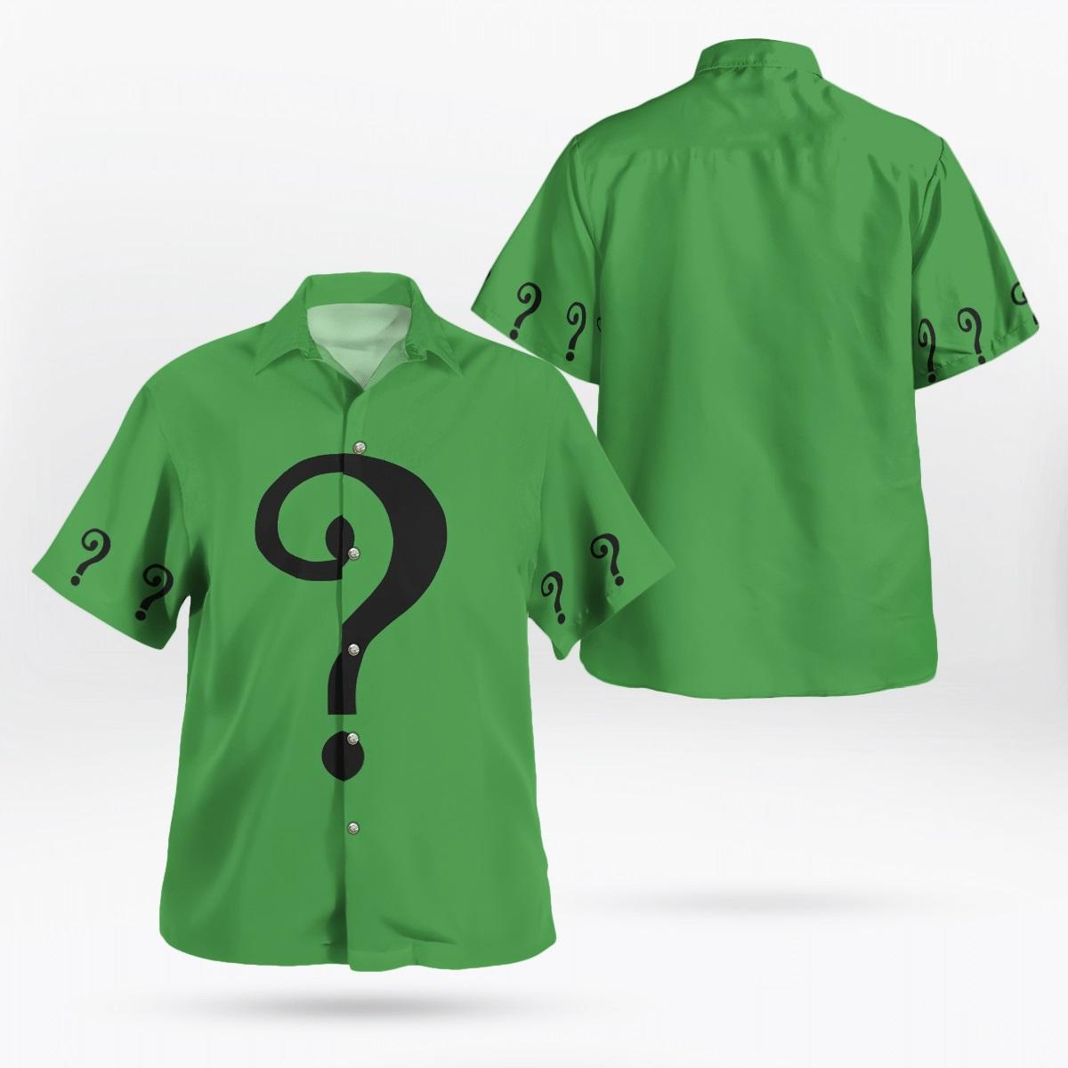 1966 Riddle hawaiian shirt