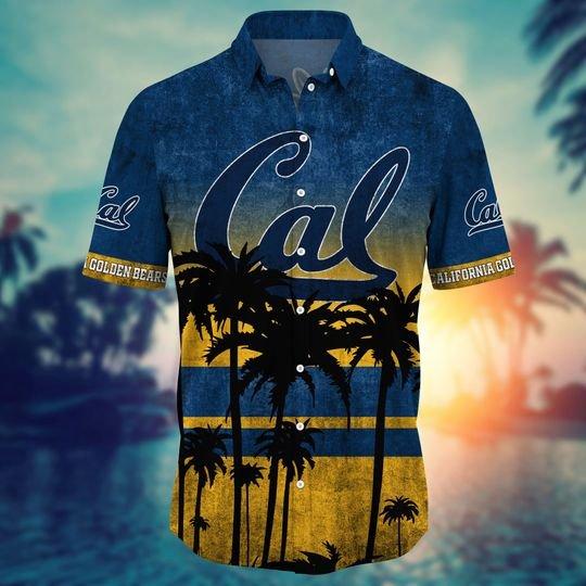 California Golden Bears NCAA3 Hawaiian Shirt And Short - BBS