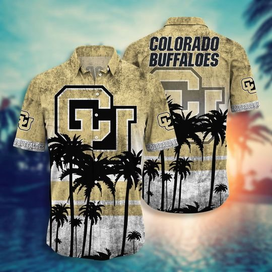 Colorado Buffaloes NCAA3 Hawaiian Shirt And Short - BBS