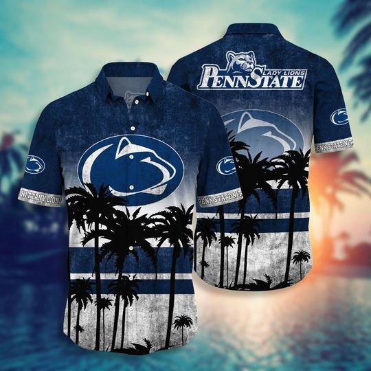Penn State Nittany Lions NCAA1 hawaiian shirt and short - BBS