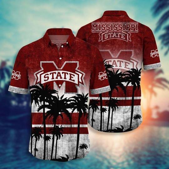 Mississippi State Bulldogs NCAA1 hawaiian shirt and short