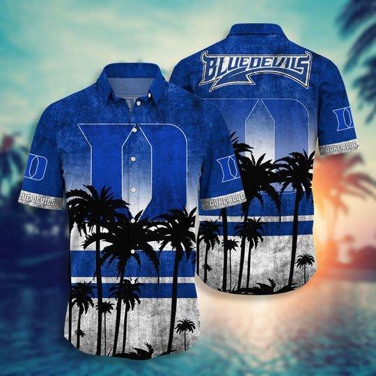 Duke Blue Devils NCAA2 Hawaiian Shirt And Short - BBS