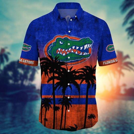 Florida Gators NCAA2 Hawaiian Shirt And Short - BBS