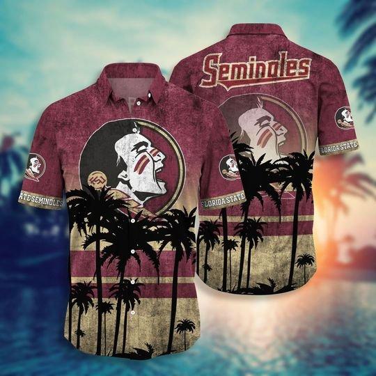 Florida State Seminoles NCAA2 Hawaiian Shirt And Short - BBS