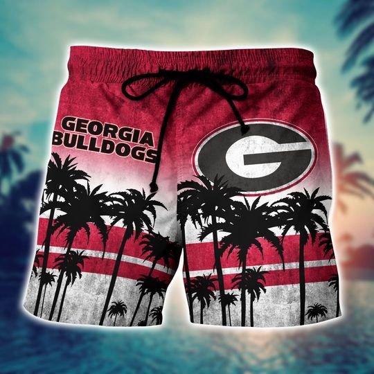 Georgia Bulldogs NCAA1 Hawaiian Shirt And Short - BBS