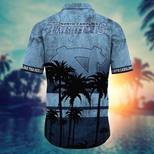 North Carolina Tar Heels NCAA2 Hawaiian Shirt And Short - BBS