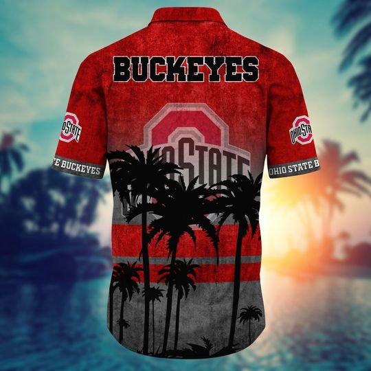 Ohio State Buckeyes NCAA1 Hawaiian Shirt And Short - BBS