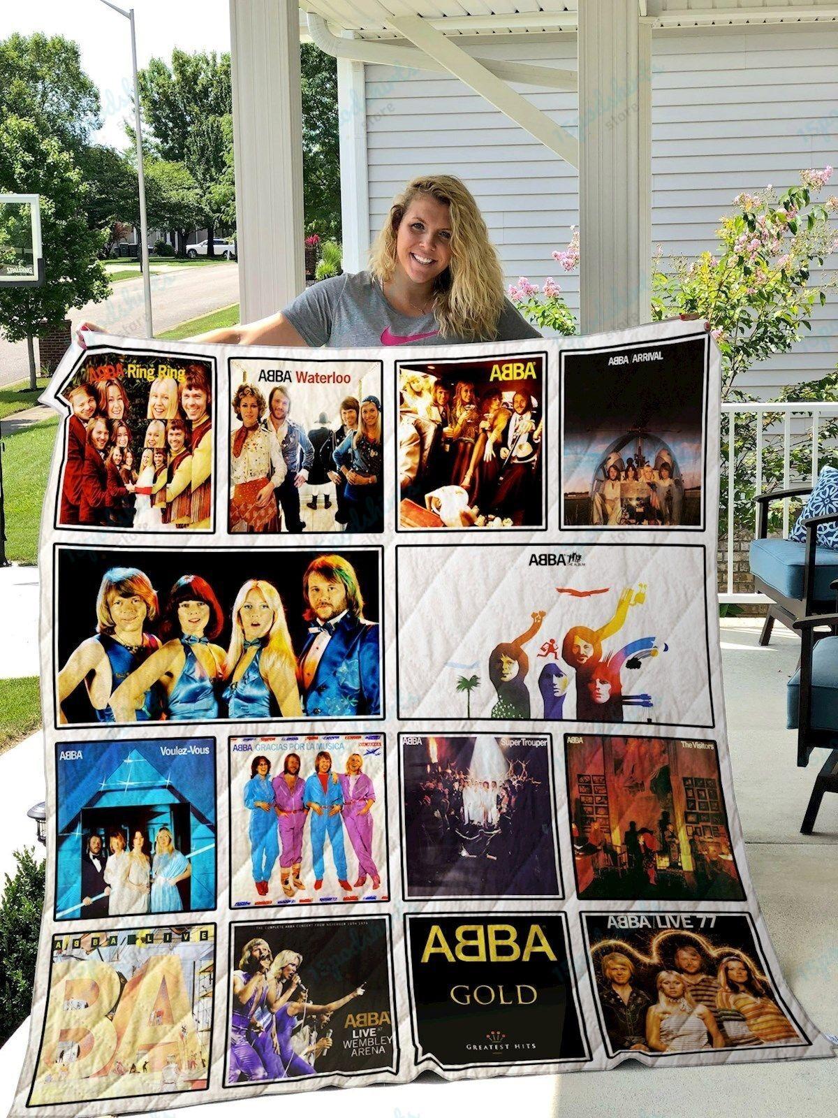 ABBA Albums Quilt