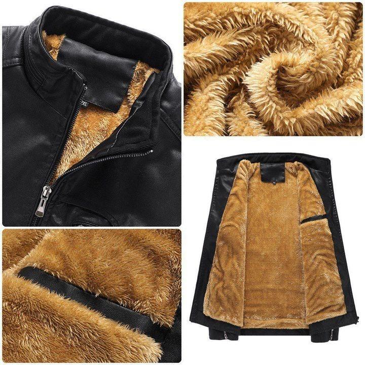 Acura Fleece Leather Jacket 2