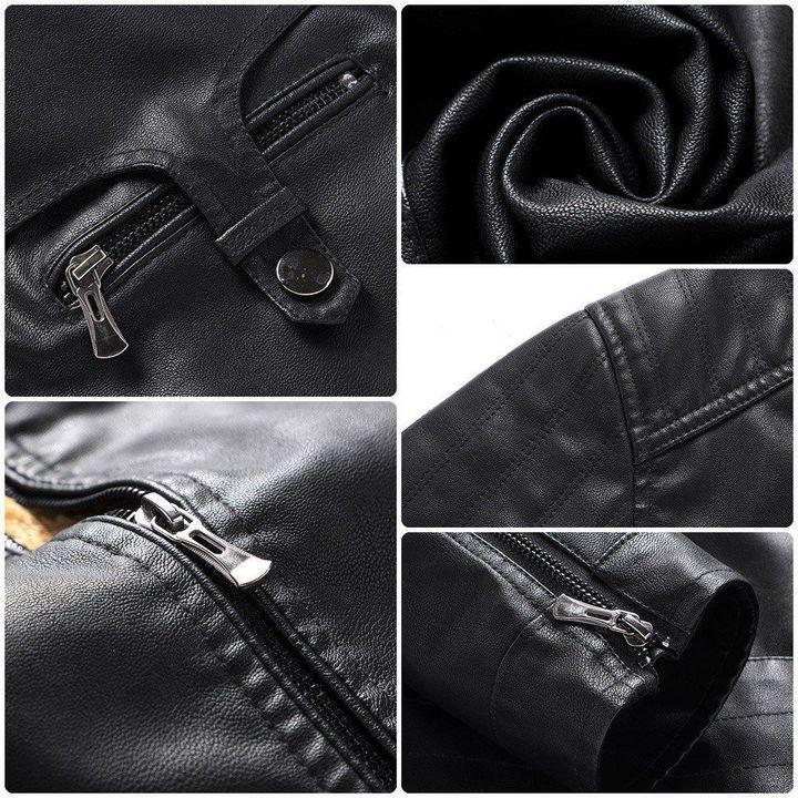 Acura Fleece Leather Jacket 3
