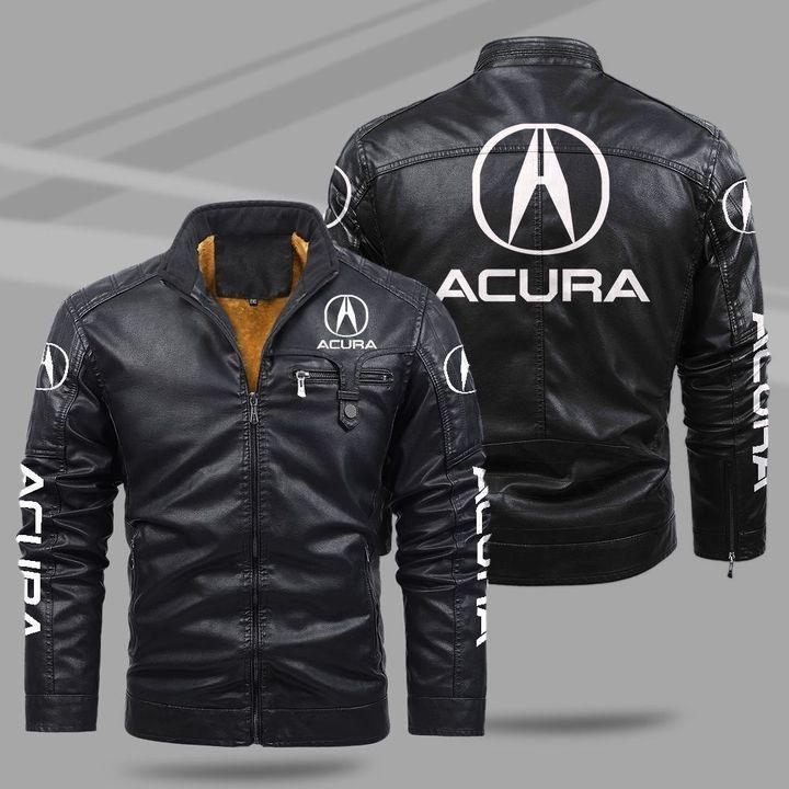 Acura Fleece Leather Jacket