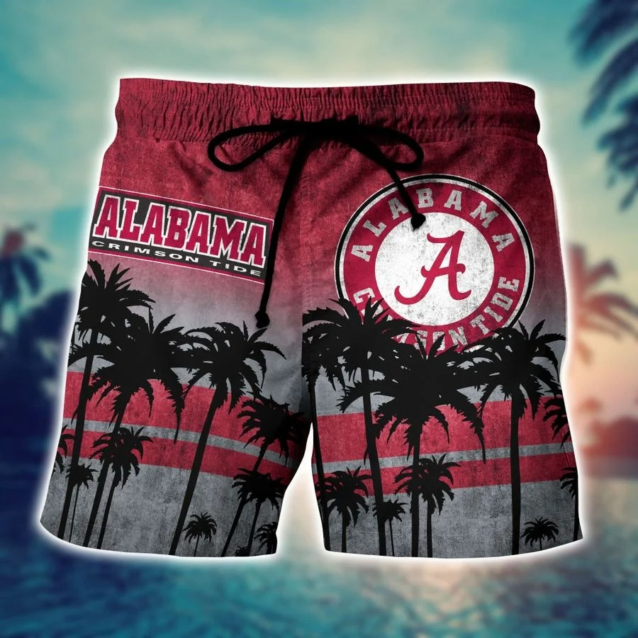 Alabama Crimson Tide Ncaa hawaii Shirt And Shorts - BBS