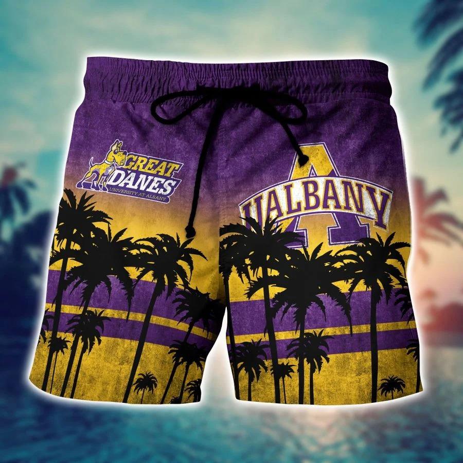 Albany Great Danes Ncaa hawaii Shirt And Shorts - BBS