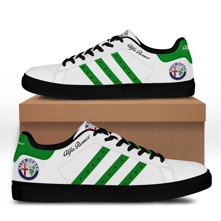 Alfa Romeo Green Line Stan Smith Shoes